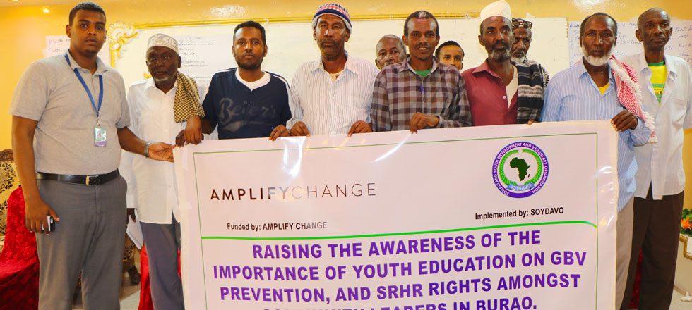 Capacity building training for village committees and Traditional leaders in Burao